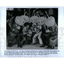 1997 Press Photo Walt Disney World On Ice Toy Story - RRX14153