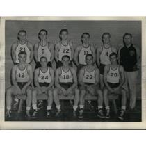 1943 Press Photo DePauw University Basketball - RRX43137