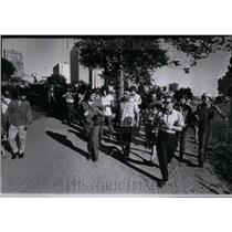1971 Press Photo Mike Chosa, Amer. Indians Site - RRU98417