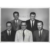 1969 Press Photo Principals in Insurance Brokerage Firm - spa78078