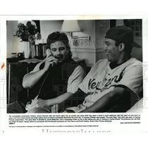1995 Press Photo Johnny Brennan and Kamal star in The Jerky Boys. - spp05841
