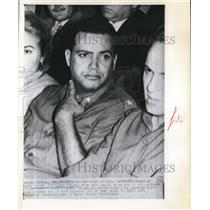 Press Photo Maj. Sergio Del Valle Jimonez Chief of Cuban Air forces