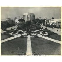 1935 Press Photo Plaza de American of America's 1935 Exposition at San Diego