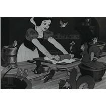 1967 Press Photo A scene from Snow White and the Seven Dwarfs, from Disney.