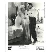 1933 Press Photo Jean Harlow and Wallace Beery in Dinner at Eight. - spp16487