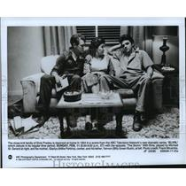 1990 Press Photo Billy Green Bush, Millie Perkins & Michael St. Gerard in Elvis.