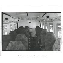 1987 Press Photo CASA C-212 Passenger Aircraft Chicago - RRY18395