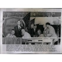 1956 Photo Democratic Convention Civil Rights Meeting - RRU99225