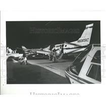 1982 Press Photo Interair Fifth Annual Aviation Trade S- RSA05787