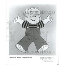 1987 Press Photo DENNIS THE MENACE COMIC STRIP - RRW31419