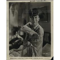 """1931 Press Photo Maurice Chevalier in """"The Smiling Lieutenant"""" - mjx30637"""