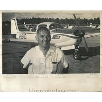 1966 Press Photo Pilot Bill Brodbeck Albany Ga Speed Re- RSA06013