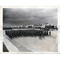"1941 Press Photo Uncle Sam's Flying Cadets Parade at ""The West Point of the Air"""