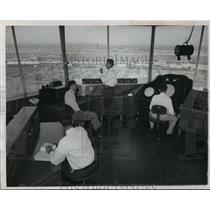 1952 Press Photo Idlewild Airport's Million Dollar Control Tower