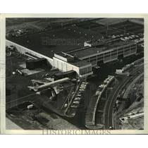 1967 Press Photo Pan American World Airways' freight terminal, New York