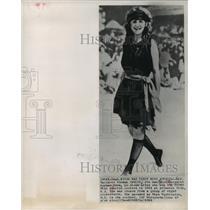 1921 Press Photo Very first Miss America, Margaret Gorman of Washington D.C.