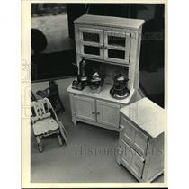 1987 Press Photo Doll House Kitchen Furniture offered at Auction