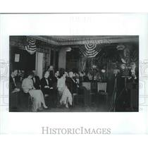 1926 Press Photo The first NBC Radio broadcast took place at Waldorf-Astoria, NY