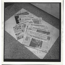 1975 Press Photo Circulation Spokesman Review Newspapers