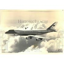 1987 Press Photo Artists conception of the new Boeing Jumbo Air Force One