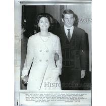 1966 Press Photo Pres. Johnson's Daughter at Mardi Gras - RRX59737