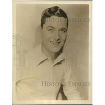 """1929 Press Photo Charles King, Broadway star, in MGM's """"The Broadway Melody"""""""