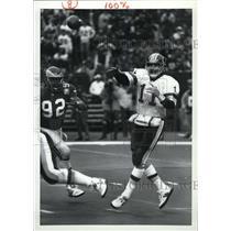 Press Photo Mark Rydien Red skin quarterback player - RRW80145