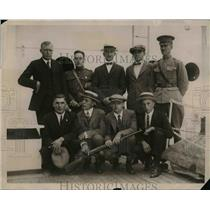 1922 Press Photo Group to Represent U.S. at International Rifle Meet in Italy