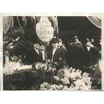 1928 Press Photo Roumanian Cabinet Members at National Fete In Capital City.