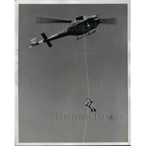 """1962 Press Photo United States Army Helicopter """"Sky Genie"""" - nem43223"""