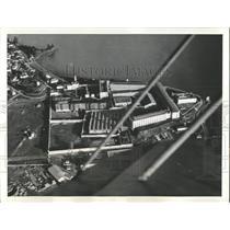 Press Photo San Quentin Prison Aerial View Francisco - RRX82277
