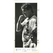 1984 Press Photo Bob Cryder, Seattle Seahawks football offensive Guard