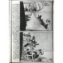 1960 Press Photo Russian Newspaper Pravda Take Landing - RRX92827