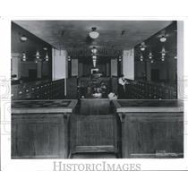 1915 Press Photo News Information Center at Milwaukee Journal Sentinel, Historic