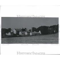 1920 Press Photo Hoard's Dairyman farm in Fort Atkinson Wisconsin - mjb10159