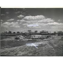 1936 Press Photo CCC Camp at Whitnall Park, Milwaukee County - mjb12200