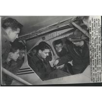 1938 Press Photo Civilan Conservation Corps youths receive aviation lessons