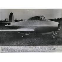 1944 Press Photo The British Gloucester jet-propelled plane - spw11452