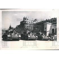 1949 Press Photo Generalissimo Francisco Franco at 10th Anniversary Parade