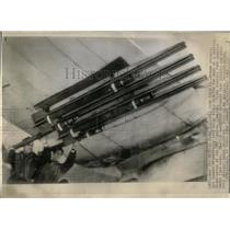 1944 Press Photo British Plane Rockets - RRY59373