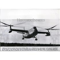 1961 Press Photo The Russian twin rotor helicopter, called the Vintokril