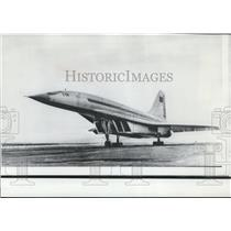 1969 Press Photo The Russian Supersonic Airliner TU144 - spw11546