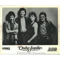 1984 Press Photo Duke-Jupiter band - spp26860
