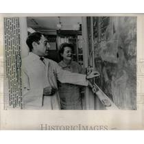 11972 Press Photo Sickle Cell Anemia Disease Research - RRW65825