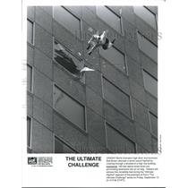 1991 Press Photo Bob Brown attempts for a world record in The Ultimate Challege