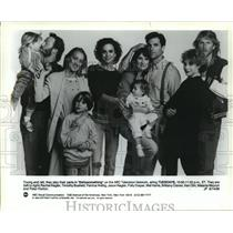 "192 Press Photo The original cast of ""thirtysomething"" - mjp08188"
