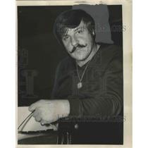 1972 Press Photo Attorney Mike J. Balen of Mandeville, Louisiana
