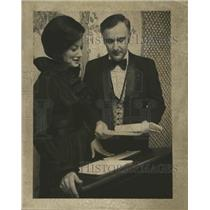 1972 Press Photo Adele Burnett & Dr. Ben J. Legett of New Orleans Dental Assoc.