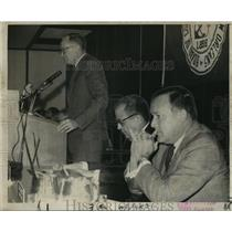 1969 Press Photo Port of New Orleans - Dock Board President Robert Barkerding