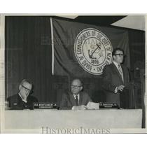 1969 Press Photo Port of New Orleans - Officers on Board of Commissioners
